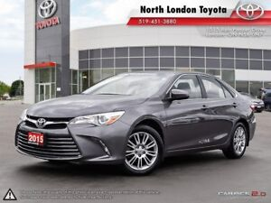 2015 Toyota Camry LE Very spacious back row seating, even big...