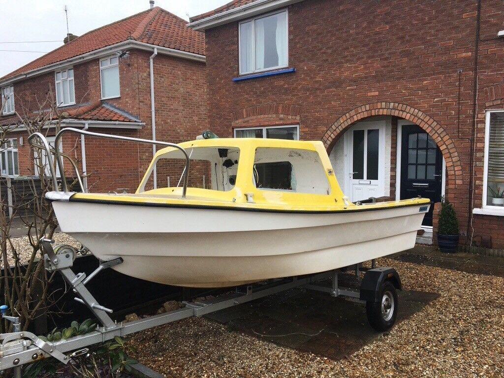 Orkney Dijon 14ft Boat with trailer  | in Norwich, Norfolk | Gumtree