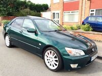 Lexus IS 200 2.0 SE 4dr £499 starts and drives 2001 (51 reg), Saloon