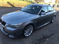 2004 BMW 530I-3.0L SE SALOON 4 DOOR PETROL AUTOMATIC GREY FULL SERVICE HISTORY ONE YEAR MOT