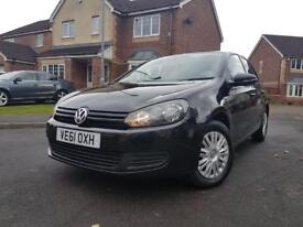 2011 VOLKSWAGEN GOLF 1.6 TDI NEW SHAPE WELL MAINTAINED 2 PREVIOUS OWNERS FSH WARRANTED MILEAGE