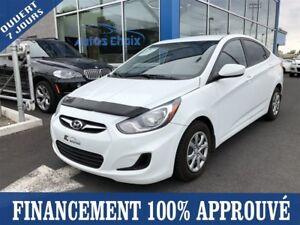 2012 Hyundai Accent GL **35$/SEM*FINANCEMENT 100% APPROUVÉ**
