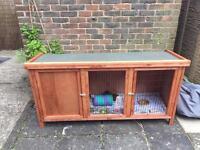 Guinea Pig / Rabbit 120cm Outdoor Cage / Hutch