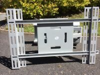 Heavy Duty Large Flat Screen Wall Mount with Dual Arm