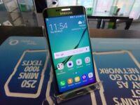 Samsung galaxy s6 edge, green, unlocked to any network