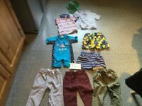 SELECTION OF BOYS CLOTHES AGE 1.5-2 YEARS. 9 items. IMMACULATE CLEAN CONDITION.