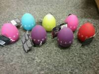 Brand new egg timers various colours