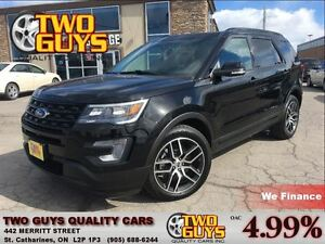 2017 Ford Explorer SPORT LOADED AWD LEATHER ROOF NAV ECOBOOST V6