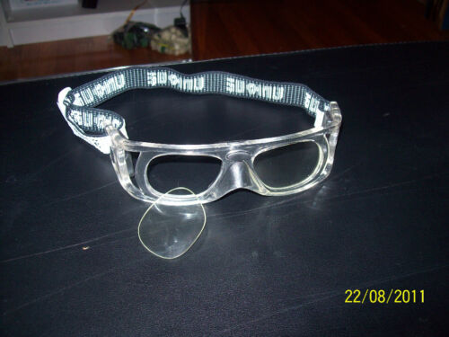 Lens or lens less eye protection racquetball and handball goggles TWO TYPES