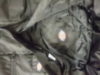 DICKIES padded boiler suit waterproof WP15000 small and med sizes workwear outdoor overall boiler