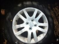 Yokohama tyres honda stud alloys as new £350 ono