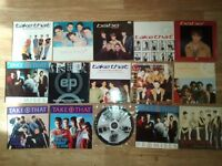 """30 x take that robbie williams gary barlow vinyls LP/12""""/7""""/promos / picture disc / posters"""