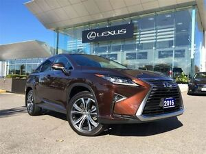2016 Lexus RX 350 1 Owner AWD Nav Lthr Sroof Btooth