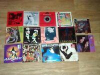 "17 x 7"" siouxsie & the banshees singles hong kong garden / happy house / stargazer"