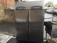 COMMERCIAL CATERING DOUBLE DOOR FRIDGE CAFE KEBAB CHICKEN FAST FOOD RESTAURANT KEBAB CHICKEN SHOP