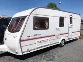 2002 Coachman Amara VS 4 berth Caravan+motor mover and Isabella porch awning!
