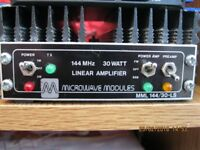 Microwave Modules MML 144/30-LS Linear Amplifier