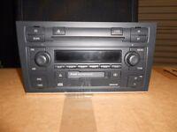Audi A4 B7 Sline Radio and6 Disc Head unit.