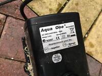 Aquarium return pump