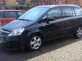 Vauxhall Zafira 2008 1.6 81000