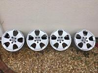 Audi Sports Alloys Wheels. Set of 4. 17 inch.