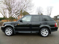 2007 Land Rover Range Rover Sport Finished in Black !