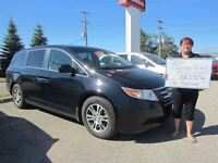 2011 Honda Odyssey EX-L with Rear Entertainment System | One Own