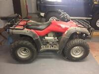 Honda trx350 2wd quad year 2007