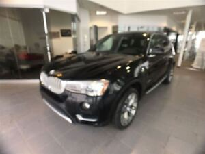 2015 BMW X3 xDrive28d Local Leased Unit, No Accidents!