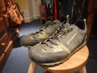 Men's Scarpa crux approach shoes size 11 £45