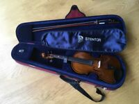 Stentor children's 3/4 violin in excellent condition
