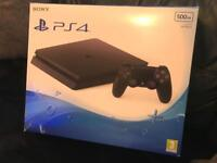 PS4 console and the sims 4