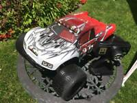 Xtm mamouth nitro rc car 2 gears