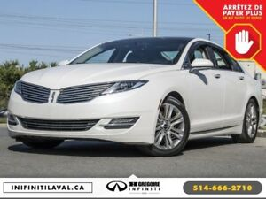 2013 Lincoln MKZ 4CYL EcoBoost FWD CUIR TOIT CAMERA RECUL