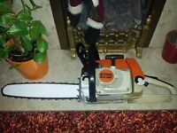 "stihl ms260 chainsaw 2009 16"" bar and chain in excellent used condition!!!SEE VIDEO!!"