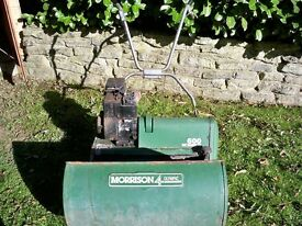 """Morrison 600 Olympic4 Lawn Mower. 4HP Briggs & Stratton Engine. 24"""" blade. For Parts / Repair"""