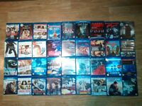 36 X BLU RAYS - harry potter sin city looper transformers ice age 4 , alex cross , ninja assassin