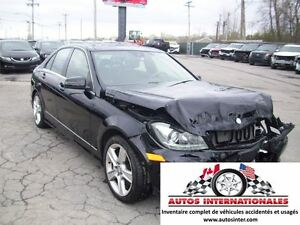 2013 Mercedes-Benz C-Class C350 4MATIC CUIR GPS SROOF BALLON OK