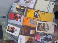 German undergraduate literature selection - 12 books