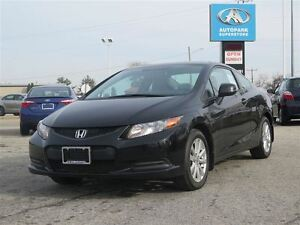 2012 Honda Civic EX/CARPROOF CLEARN/MANUAL/BLUETOOTH/SUNROOF