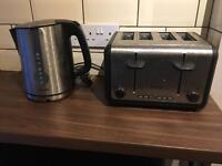 Phillips kettle and toaster