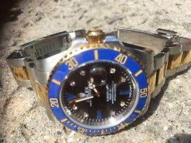Rolex serti diamond dial submariner