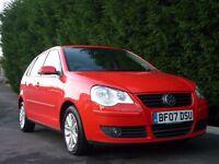 2007 Volkswagen Polo 1.2s (5 door & 12months MOT)