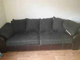 Dfs large sofa and armchair