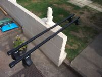 thule 150cm roofbars and thule 750 footpack