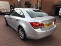 2011 11 CHEVROLET CRUZE 1.6 S SILVER SALOON