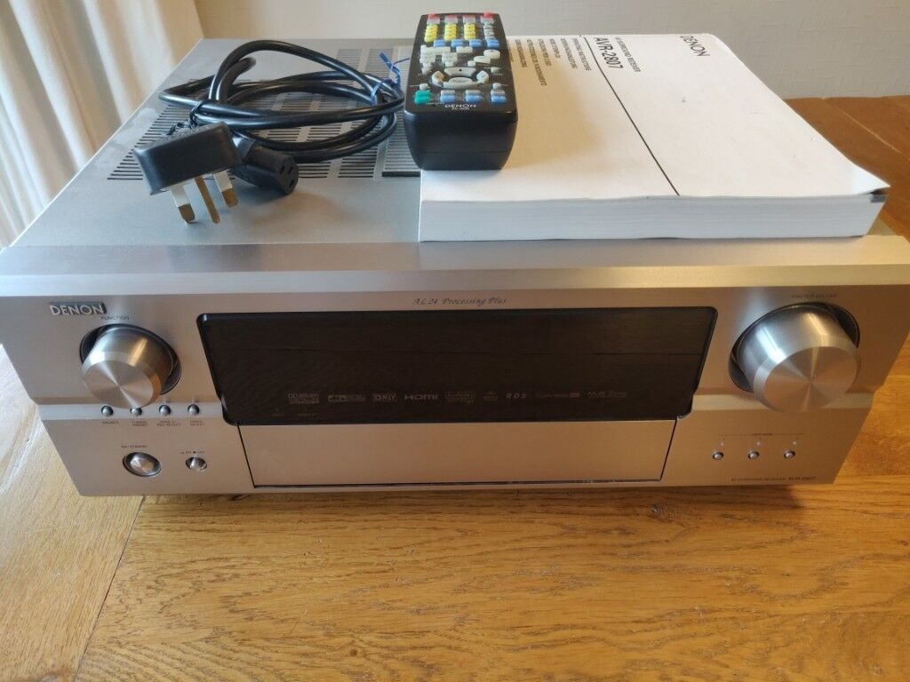 Denon AVR-2807 Home Cinema Receiver (RRP £900) | in Craiglockhart,  Edinburgh | Gumtree