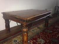 Mexican solid pine coffee table