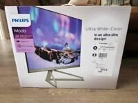 "Philips C-Line 24"" Full HD IPS Monitor - VGA HDMI DP"