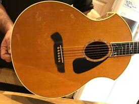 PARKER Electro acoustic guitar with Fishman pickup
